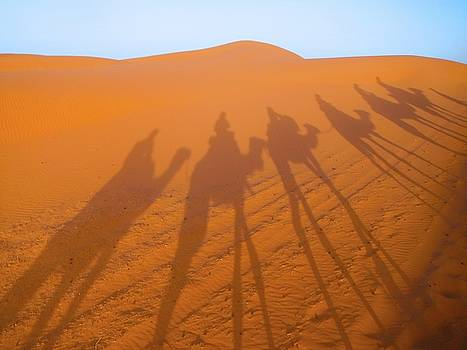 Camel shadows by Exploramum Exploramum