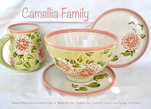 Camellia Family by Teresa Tromp