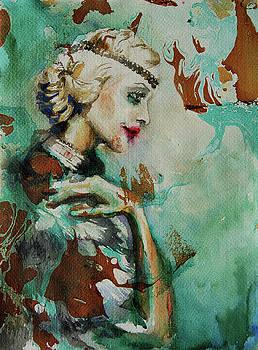 Camellias by Tatiana Ilieva