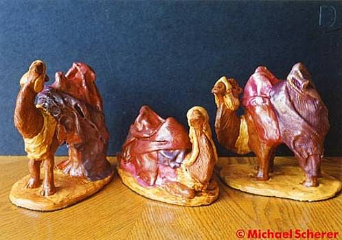 Camels of the Nativity by Michael Scherer