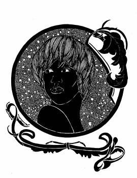 Cameo Art Nouveau by Lenora Brown