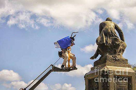 Patricia Hofmeester - Camera man on a crane