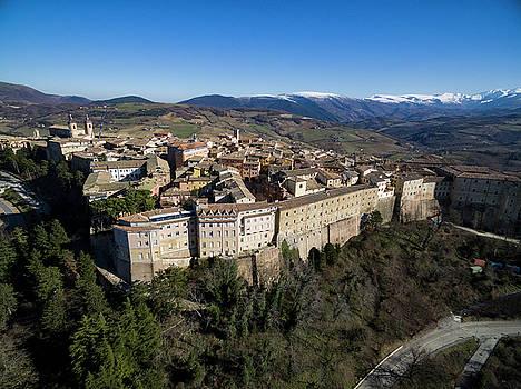 Camerino Italy - Aerial Image by David Daniel