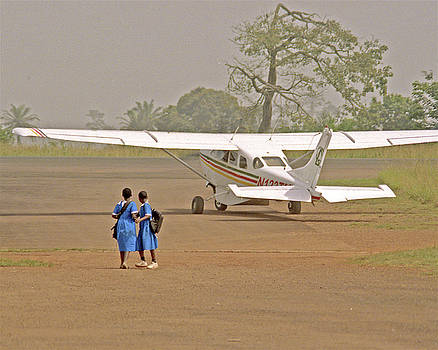 Michael Peychich - Cameroon Airstrip