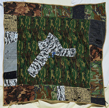 Camo Pockets by Nancy Mauerman