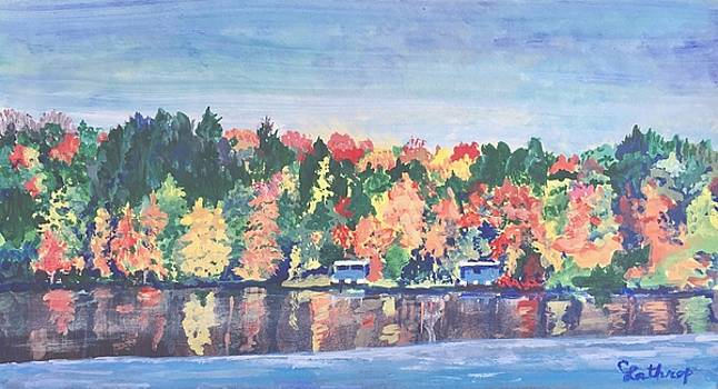 Camp Archbald at Ely Lake by Christine Lathrop