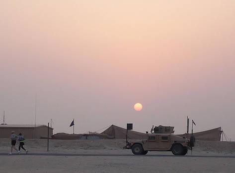 Camp Buehring Kuwait by Thomas  MacPherson Jr