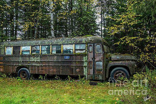 Camp Bus by Alana Ranney