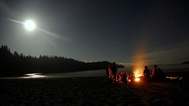 Camp Fire  by Jeff  Reynolds