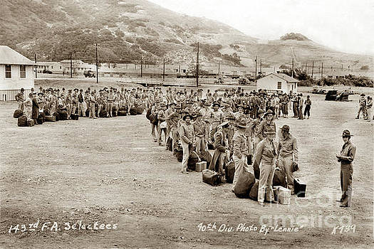 California Views Mr Pat Hathaway Archives - Camp San Luis Obispo Army Base 40th Division Photo 143rd Field Artillery 1941