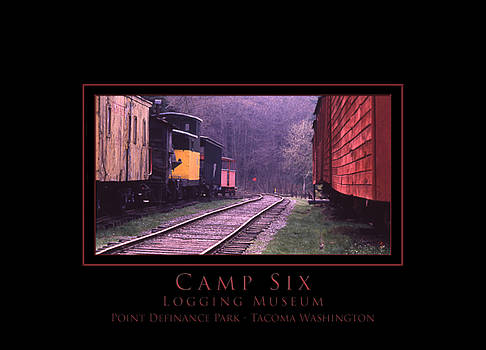 Camp Six - Logging Museum by Patricia Whitaker