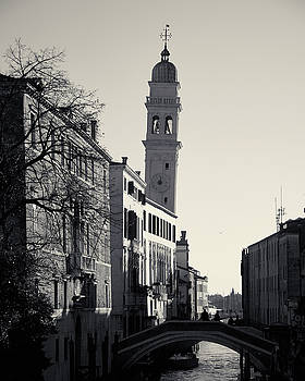 Campanile, San Giorgio dei Greci, Venice, Italy by Richard Goodrich