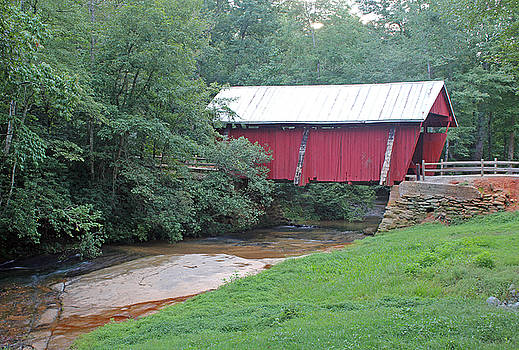 Campbell's Covered Bridge 1 by Joseph C Hinson Photography