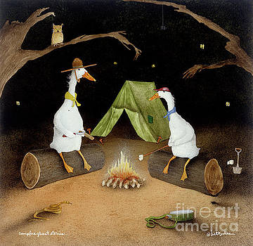 Campfire Ghost Stories by Will Bullas