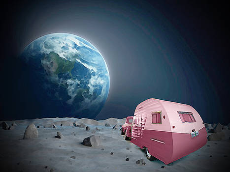 Camping on the Moon by Becky Alden