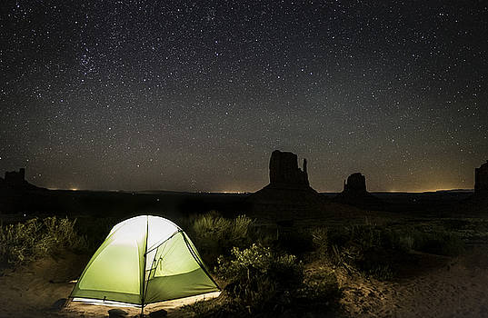 Camping under the Stars by Tony Fuentes