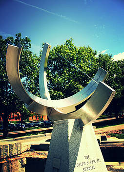 Campus Sundial by Amy Layton