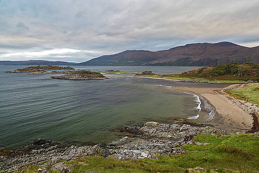 Camusfearna Sandaig Islands Glenelg by Derek Beattie