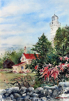 Cana Light In Door County by Monte Toon