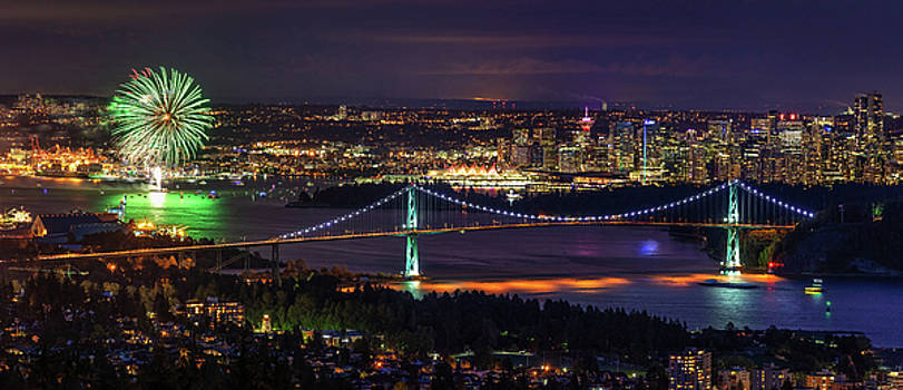 Canada Day Celebration in Vancouver City by Pierre Leclerc Photography