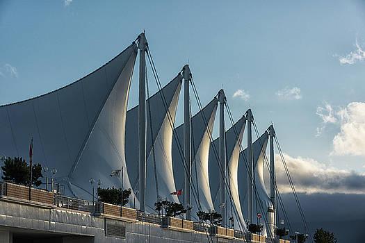 Canada Place - Cruise Ship Terminal by Dennis Kowalewski