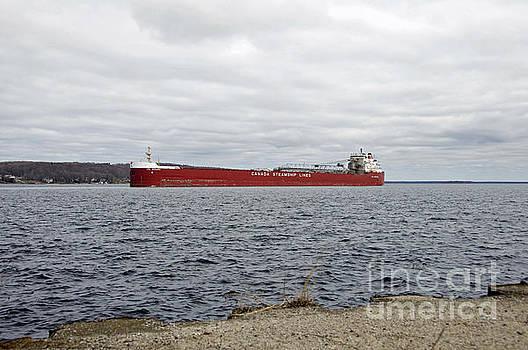 Elaine Mikkelstrup - Canada Steamship Lines