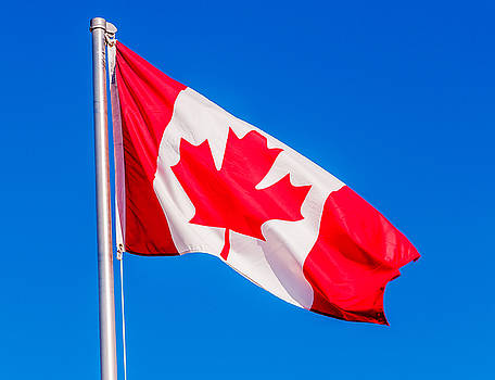 Canadian Flag by Lonnie Paulson