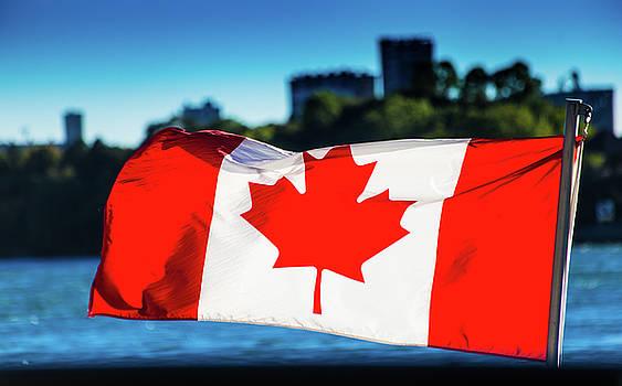 Canadian flag by Mariusz Czajkowski