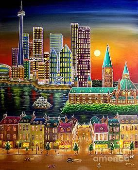 Canadian night by Esam Jlilati