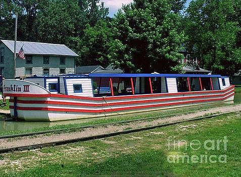 Gary Wonning - Canal Boat