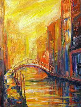 Canal Bridge by Patrick Parker