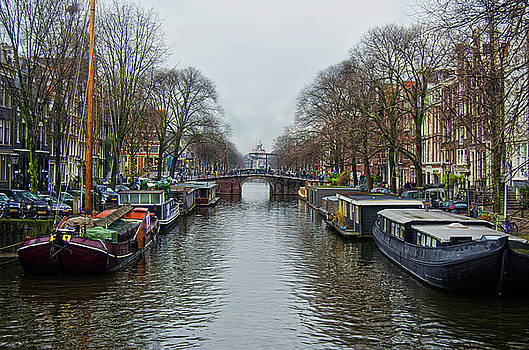 Spade Photo - Canal in Amsterdam