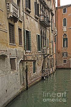 Canal in Venice Italy by Loriannah Hespe