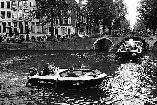 Canal Life Amsterdam by August Timmermans