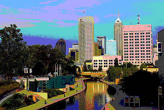 Canal On Indy by Rob Banayote