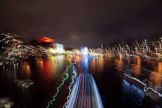 Matt Swinden - Canal Streaking Abstract