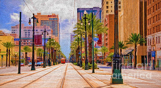 Kathleen K Parker - Canal Street New Orleans - Painted