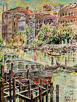 Canale Grande by Alfred Motzer