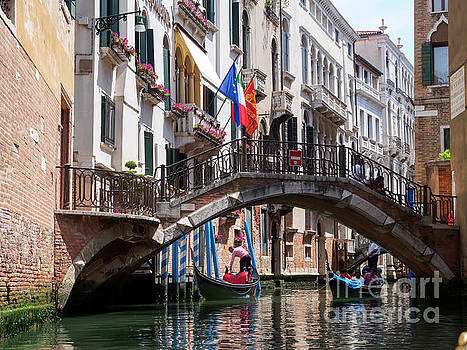 Canals in Venice Italy by Louise Heusinkveld