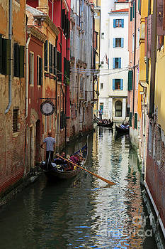 Canals of Venice Italy by Louise Heusinkveld