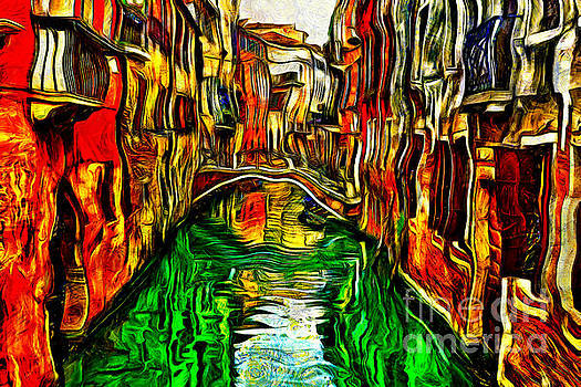 Canals Of Venice by Milan Karadzic