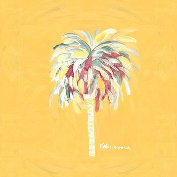 Canary Palm Tree by Kristen Abrahamson