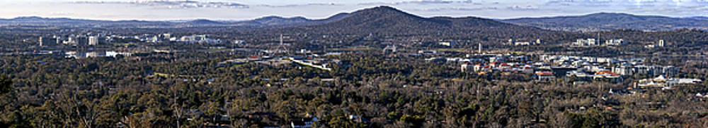 Steven Ralser - Canberra- Australia - Panorama from Red Hill