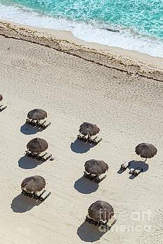 Cancun Beach View by Jess Kraft