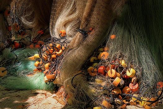 Cancun Mexico - Fishing Nets by Russell Mancuso