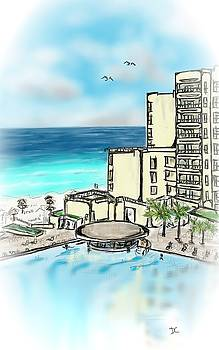 Cancun Royal Sands by Darren Cannell