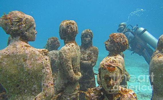 John Malone - Cancun Underwater Museum Five
