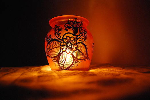 Candle holder 2 by Srija Chartham