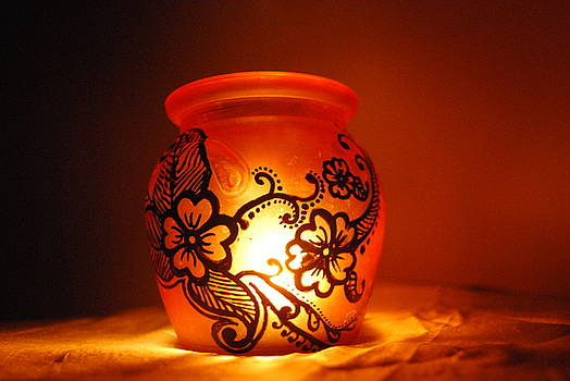 Candle holder 3 by Srija Chartham