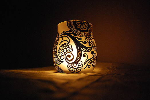Candle Holder 4 by Srija Chartham